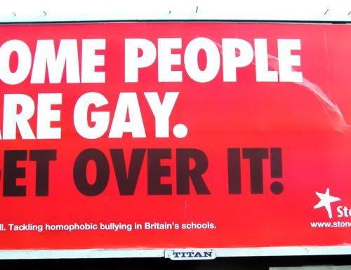 L'omofobia non è un'opinione
